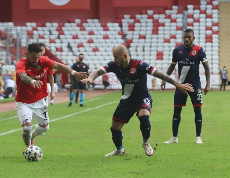 Süper Lig: FT Antalyaspor: 1 - Gaziantep FK: 1 Maç sonucu