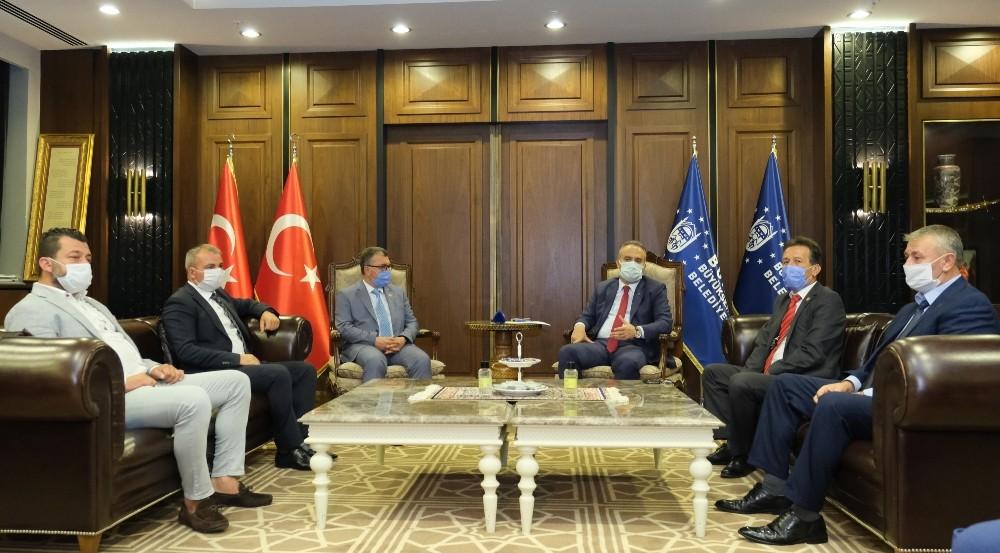 Başkan Aktaş, demokrasinin uç beylerini ağırladı