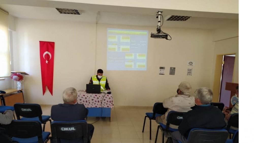 Aslanapa'da servis şoförlerine hijyen eğitimi
