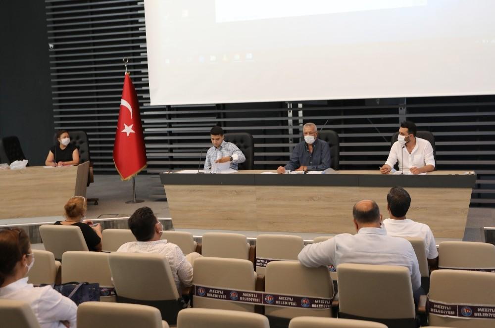 Mezitli Belediyesinin 2021 yılı bütçesi oy birliği ile kabul edildi