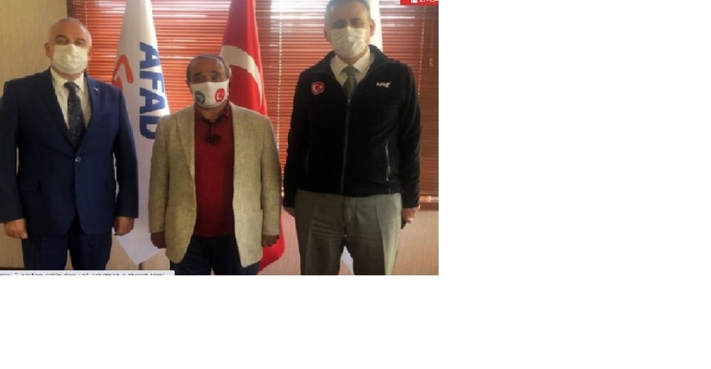 Başkan Şahin, Palakoğlu'na ilçedeki sorunları iletti