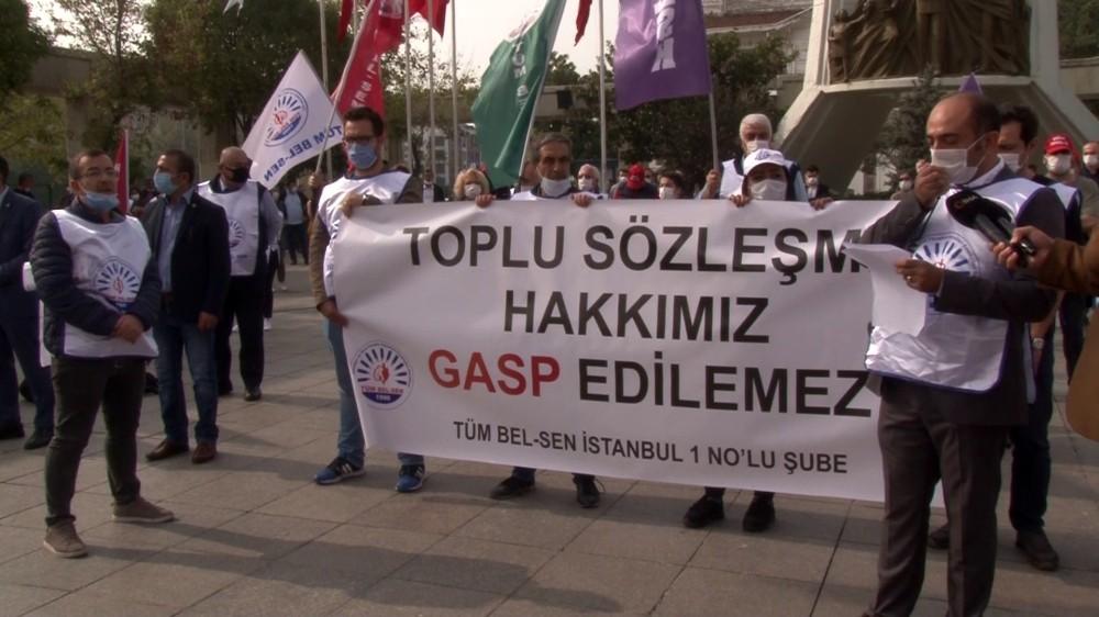 Bakırköy Belediye Başkanı 19 aydır belediye çalışanlarının sesini duymuyor