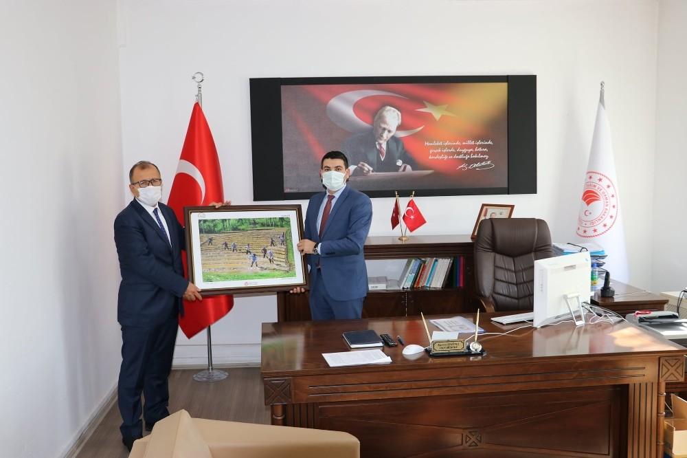 Kars Tarım ve Orman Müdürü Altıntaş Arpaçay'da ziyaretlerde bulundu - Kars  Haberleri