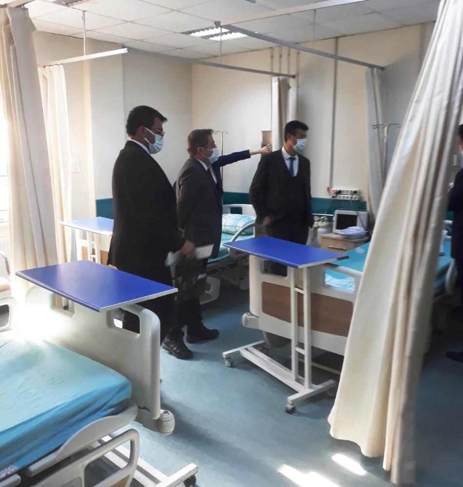 Sağlık Müdürü Korkmaz, Emirdağ ilçesinde sağlık ünitelerini inceledi