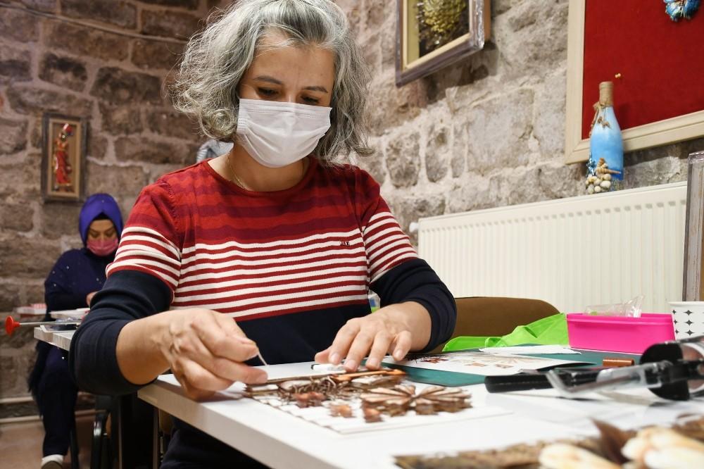 Aksaray'da kurulan kooperatiflerle kadınlar iş sahibi oldu