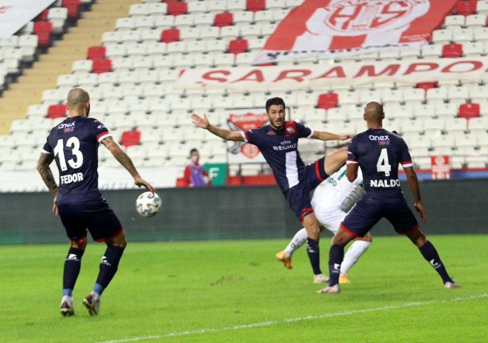 Süper Lig: Fraport TAV Antalyaspor: 0 - Aytemiz Alanyaspor: 0 İlk yarı