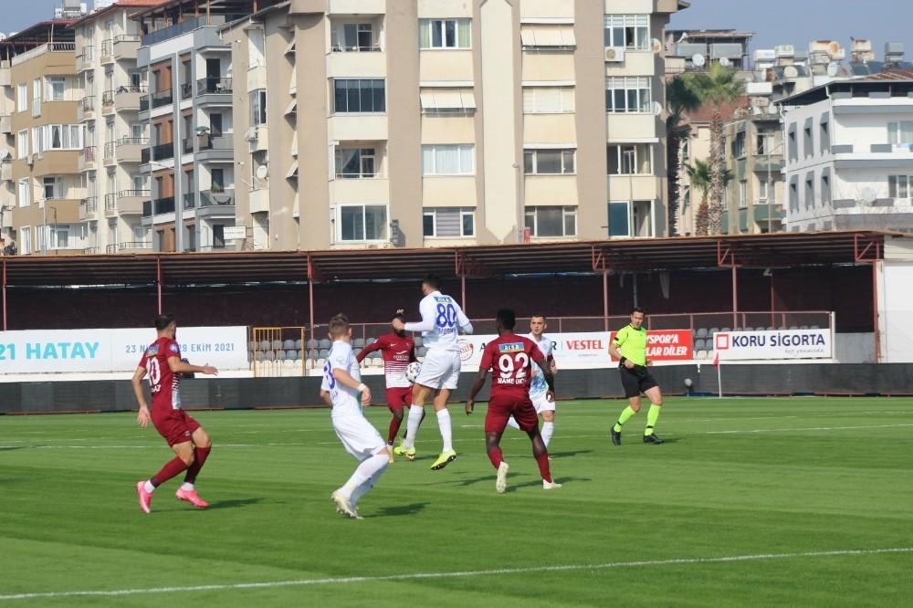 Süper Lig: Hatayspor: 0 - Ç.Rizespor: 1 Maç devam ediyor