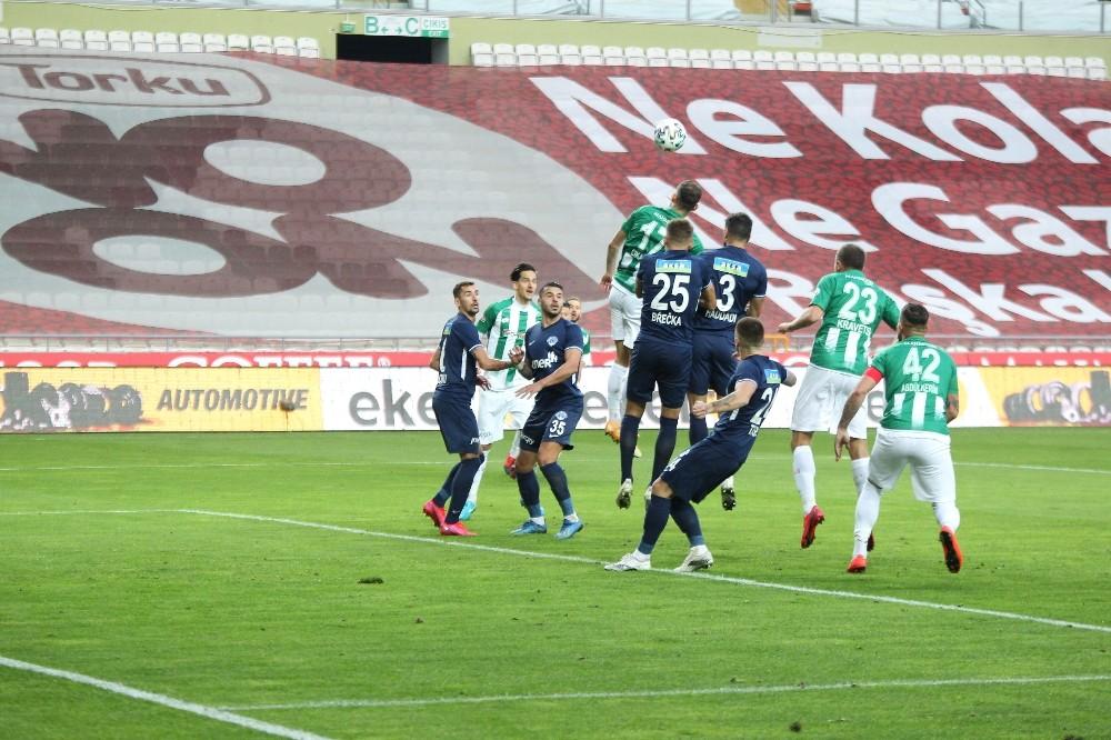 Süper Lig: Konyaspor: 2 - Kasımpaşa: 1 Maç sonucu