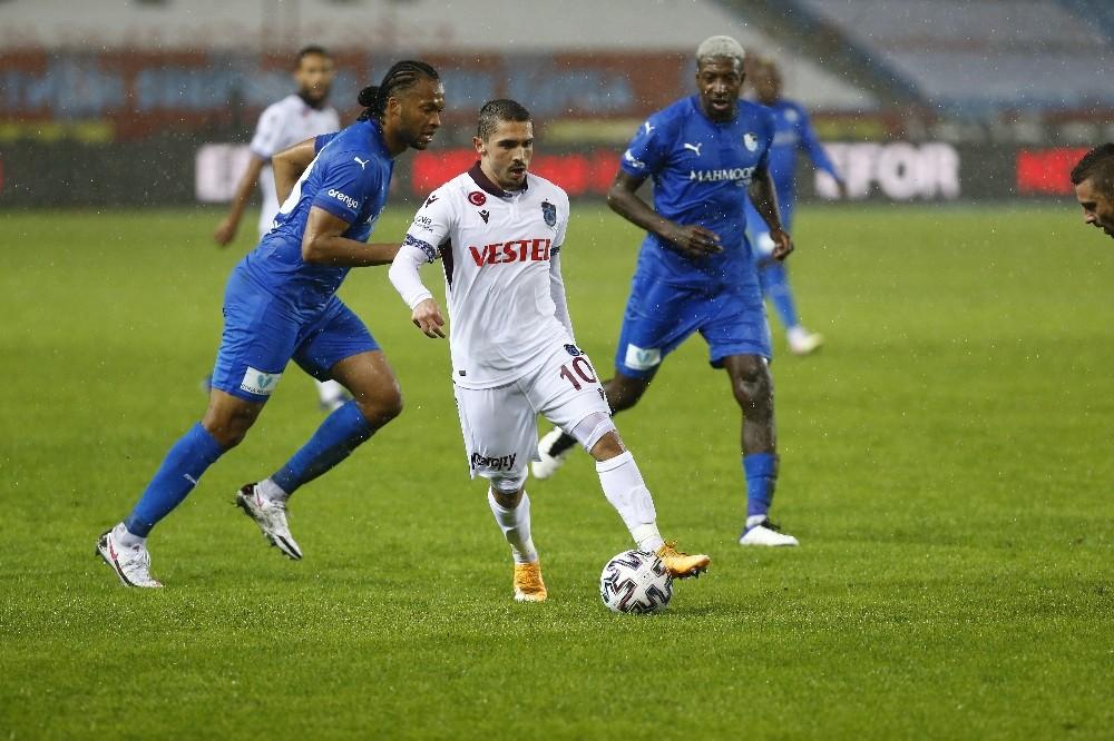 Süper Lig: Trabzonspor: 1 - Büyükşehir Belediye Erzurumspor: 0 Maç sonucu