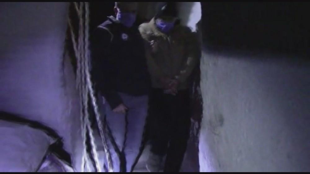 DEAŞ'a yönelik yapılan operasyon polis kamerasında