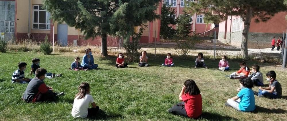 Çiçekdağı ilçesinde anasınıfı öğrencilerine 'Masal Diyarı' etkinliği