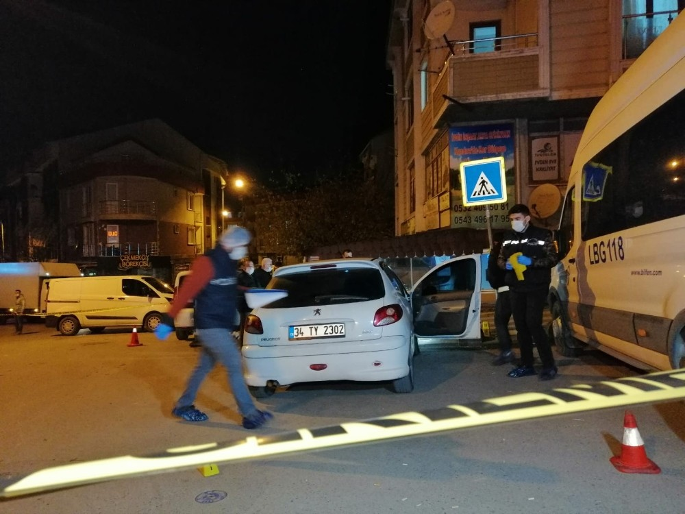 Çekmeköy'de silahlı kavga: 2 yaralı