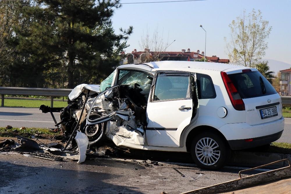 Duble yolda meydana gelen kazada ilginç detay: Kazadan birkaç dakika önce radara girmiş