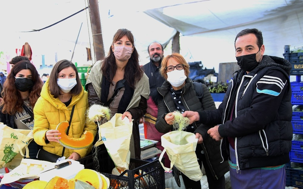 """Gıdanı Koru Sofrana Sahip Çık"""" kampanyasına Ataşehir Belediyesi de katıldı"""
