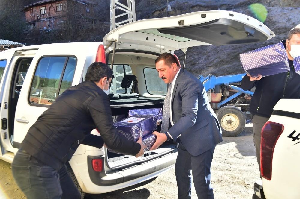 Başkan Vidinlioğlu, Tepeharman köyünü ziyaret etti