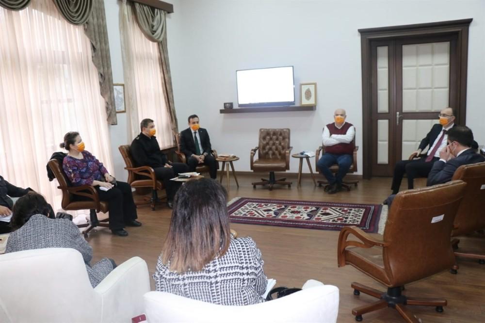 Bandırma'da Kadın Yönelik Şiddetle Mücadele toplantısı yapıldı