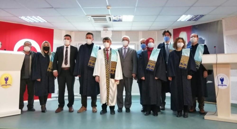 DPÜ Eğitim Fakültesi'nde akademik yükseltme töreni