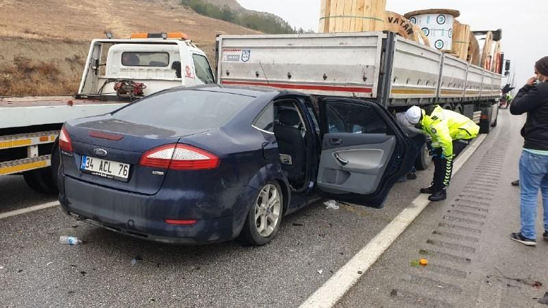 Tosya'da zincirleme kaza: 4 yaralı