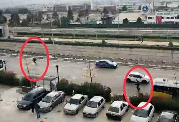 Bursa'da nefes kesen takip...Polis kaçan hırsızı böyle yakaladı
