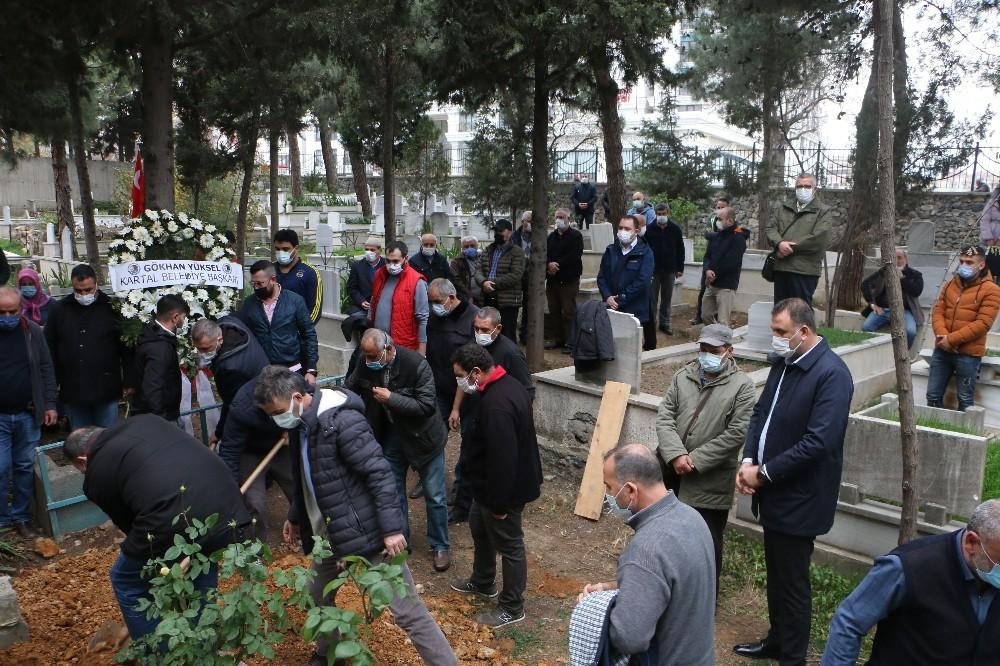 Kartal Belediyesi'nden Kartallı Kazım'ın oğlu Yılmaz Gölebeler'e son görev