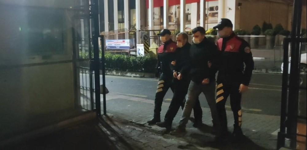 """Özel İstanbul'da """"yastık içi"""" torbacı nefes kesen operasyonla yakalandı"""