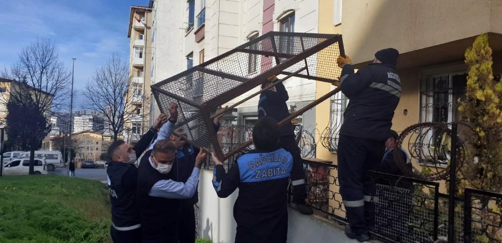 Bağcılar'da zabıta ekiplerini şoke uğratan ihbar