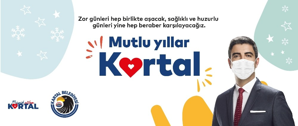 Kartal Belediye Başkanı Gökhan Yüksel'den yılbaşı mesajı