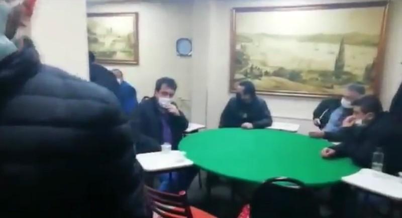 Üsküdar'da dernek görünümlü kumarhaneye baskın
