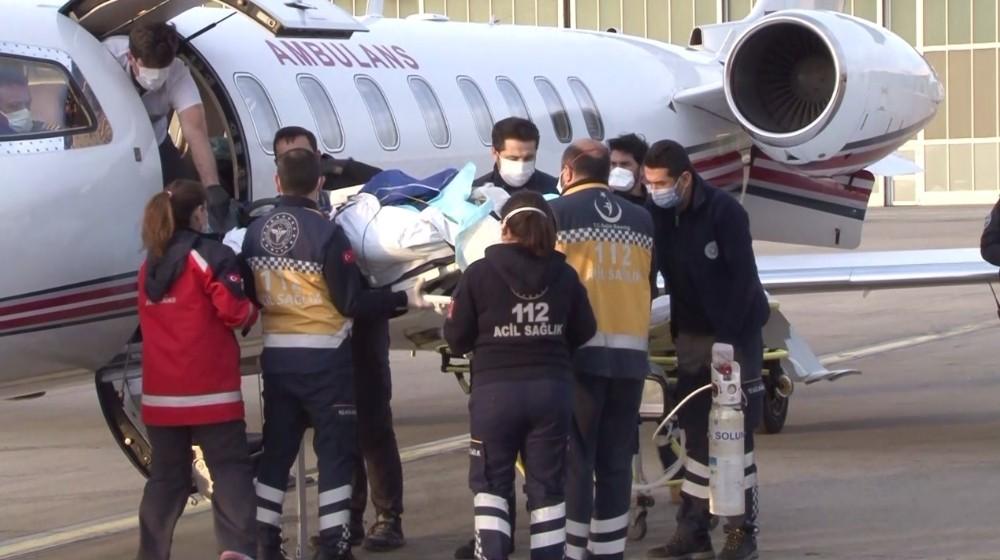 Kosova'daki patlamada yaralanan 2 kişi Türkiye'ye getirildi