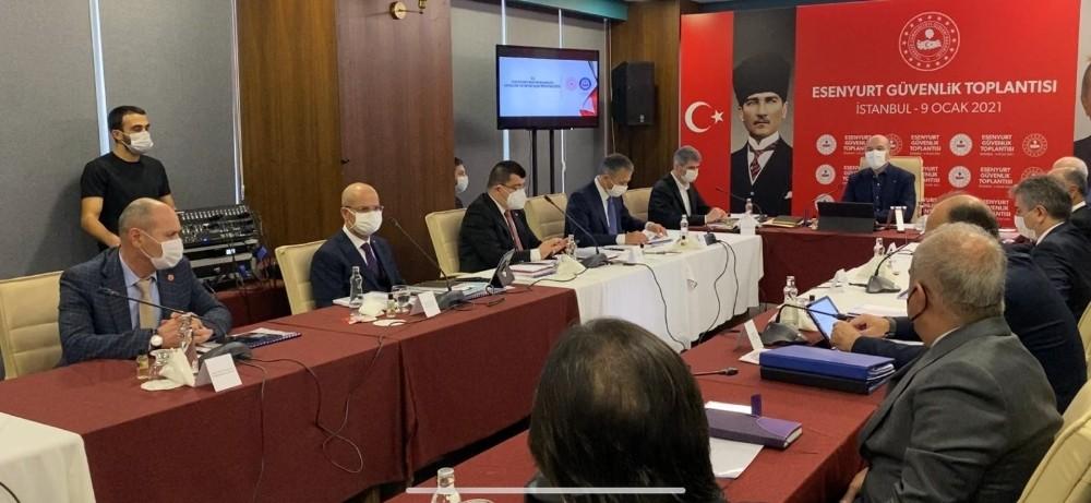 İçişleri Bakanı Soylu, Esenyurt Güvenlik Toplantısı'na katıldı