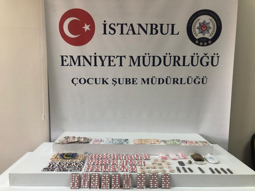 Çocuklara uyuşturucu satan zehir tacirlerine operasyon: 5 gözaltı
