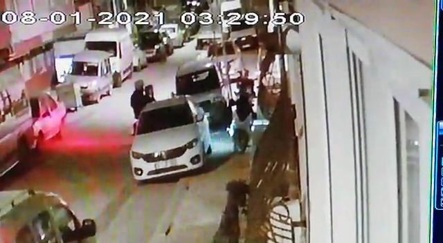 Özel Maltepe'de dakikalar içerisinde motosiklet hırsızlığı