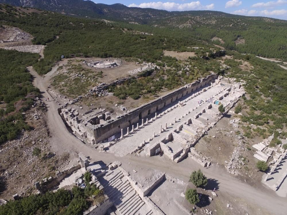 Aşkların şehri Sagalassos 2020 yılında 42 bin 285 ziyaretçi ağırladı