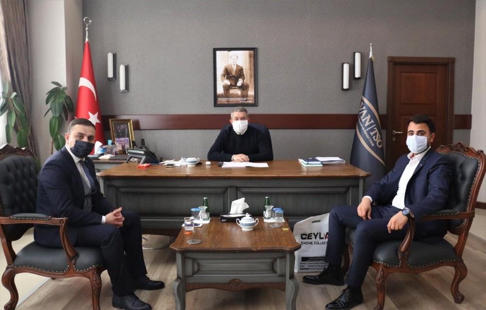 ASRİAD'dan oda başkanlarına ziyaret