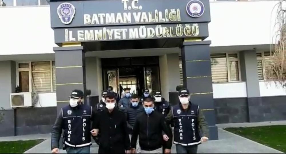 Batman'da bin 595 suç olayı aydınlatıldı