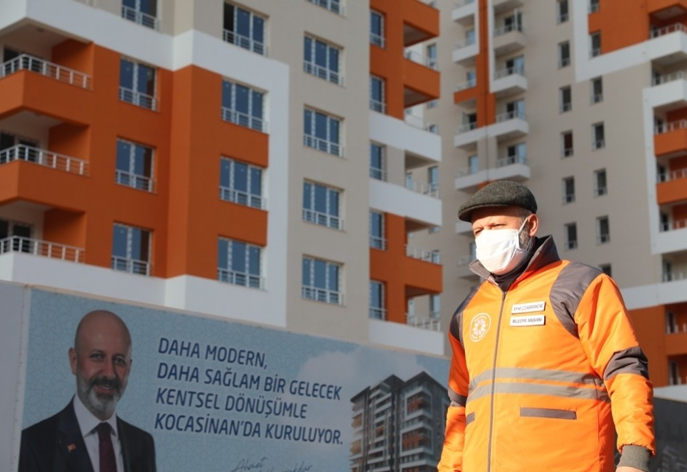 Kocasinan'ın kentsel dönüşümü kesintisiz devam ediyor