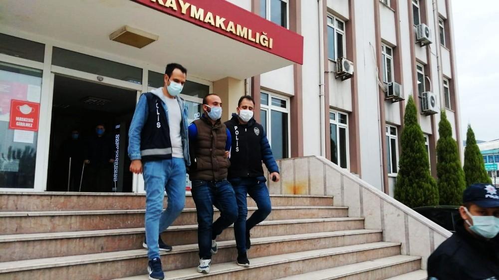 Kırkağaç'ta çok sayıda hırsızlığın şüphelisi tutuklandı