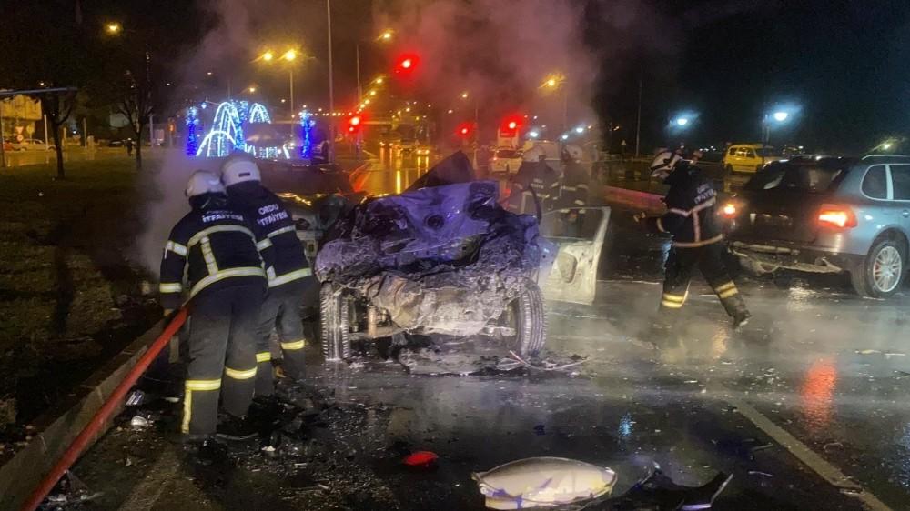 Ordu'da feci kaza: 1 ölü, 2 yaralı
