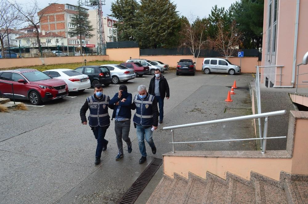 Sahte içki operasyonunda yakalanan şahıs tutuklandı