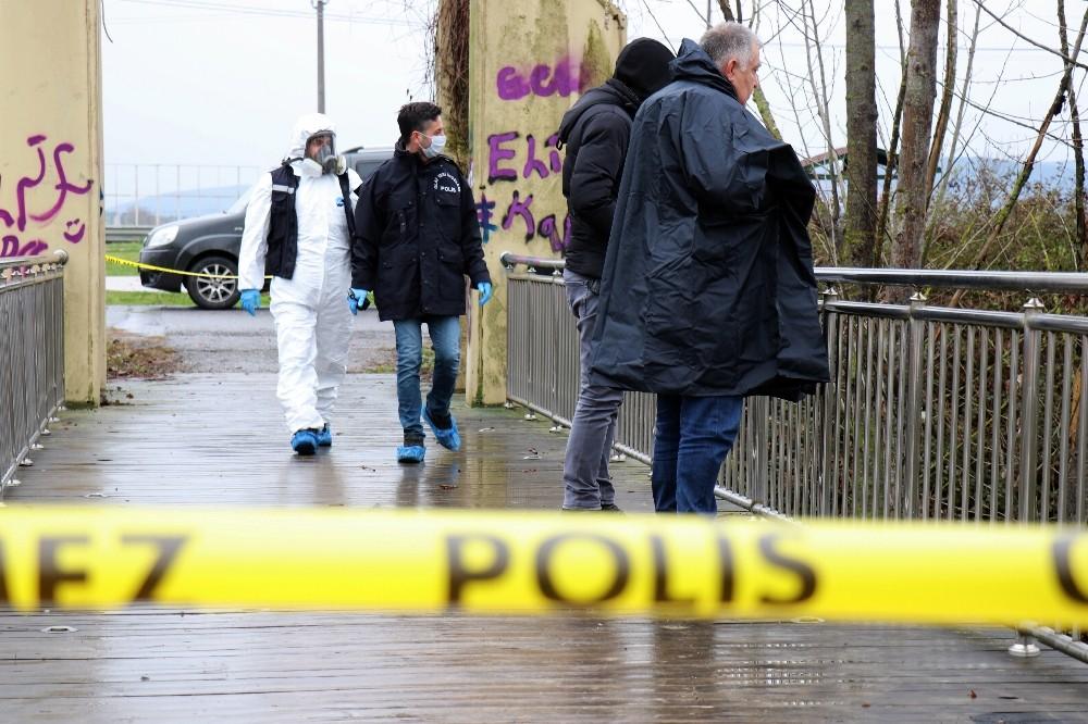 Çantaya saklanmak istenen cinayette bölge didik didik aranıyor
