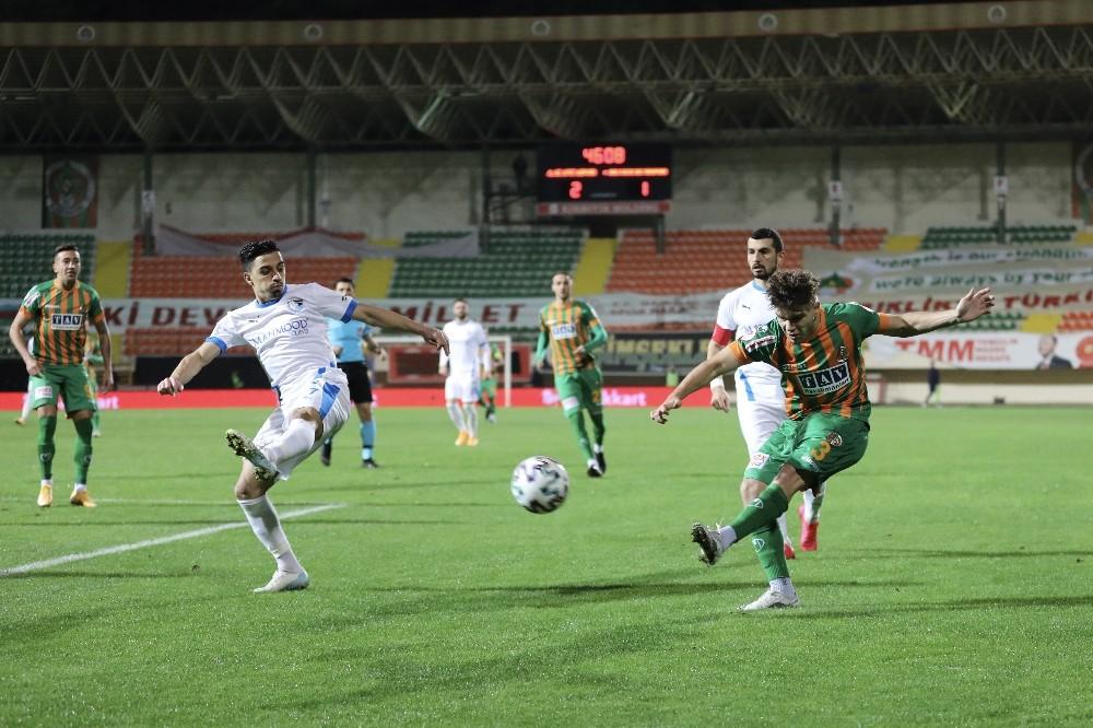 Ziraat Türkiye Kupası: Aytemiz Alanyaspor: 4 - BB Erzurumspor: 1 Maç sonucu