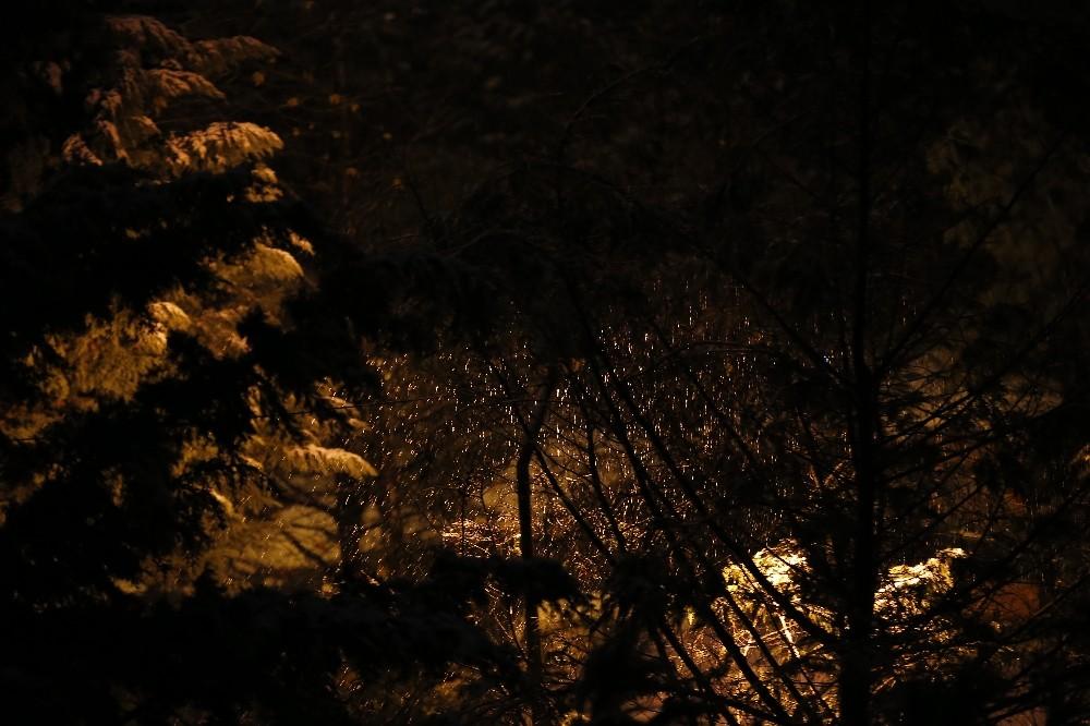 İstanbul'da drone ile kar manzaraları