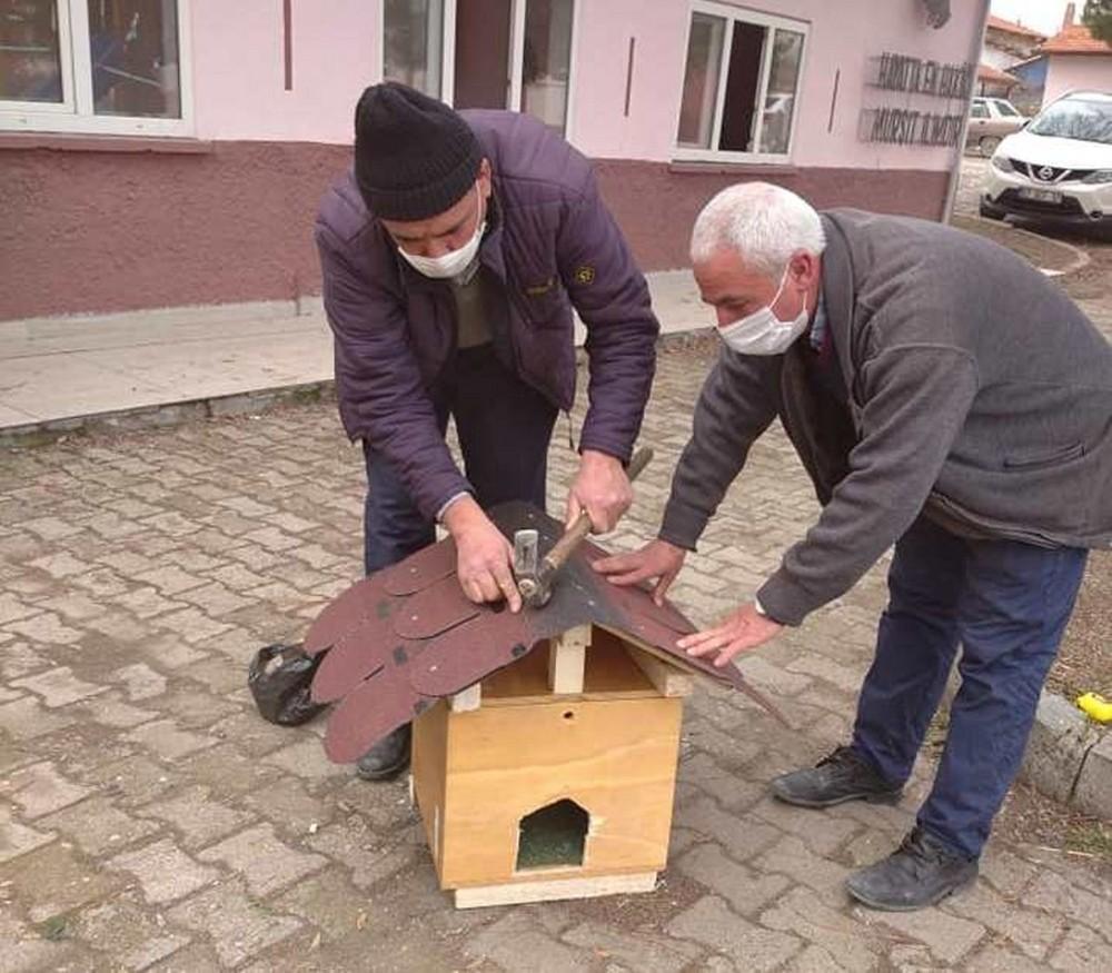 """ÇPL'den """"Sokak Hayvanlarını Besliyorum"""" projesine kedi evi desteği"""