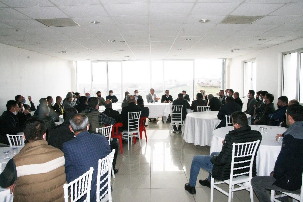 Silvan'da OSB toplantısı