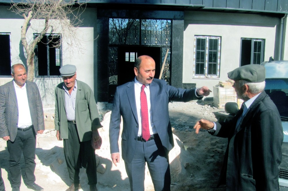 Başkan Doğru, Esentepe Sosyal Tesis inşaatını inceledi