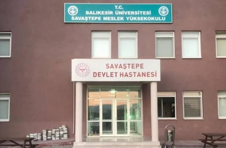 BAÜN'den Savaştepe Devlet Hastanesi'ne bina kullanım desteği