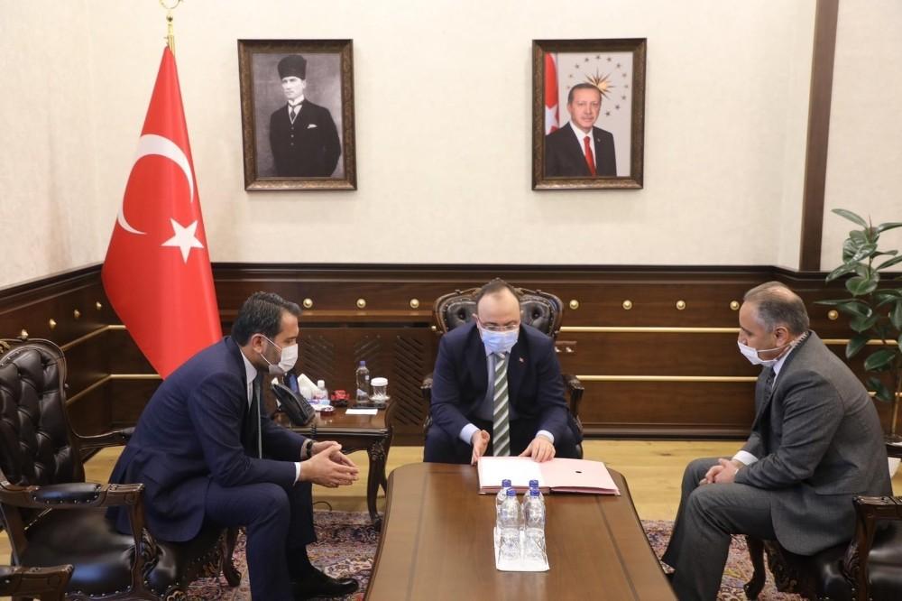 Elazığ'da 16 derslikli okul için protokol imzalandı