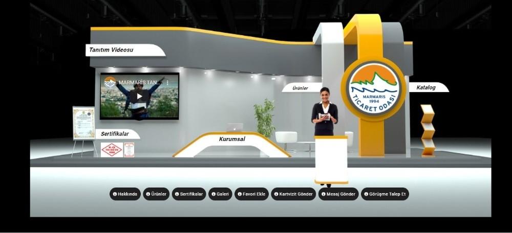 Marmaris Ticaret Odası Dijital Turizm Fuarında Marmaris'i temsil edecek