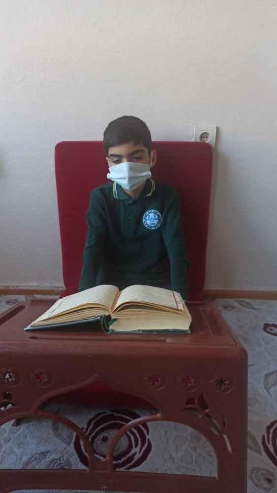 Kur'an-ı Kerim'i güzel okuma birincisi Darende'den