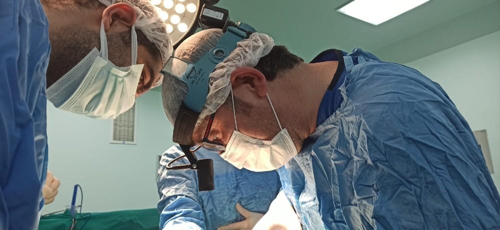 Niğde'de ilk defa prematüre doğan bebeğe kalp ameliyatı yapıldı